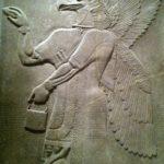 Genio alado del palacio de Ashurnasirpal II