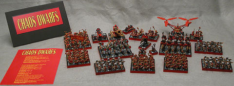 Ejército rojo de Enanos del Caos