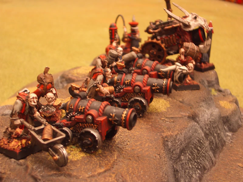 Tren de artillería de las Puertas de Zharr