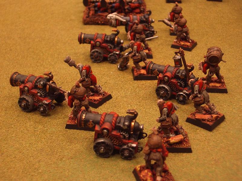 Flanco del tren de artillería de las Puertas de Zharr
