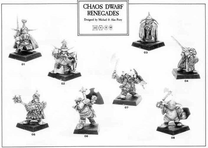 Chaos Dwarf Renegades