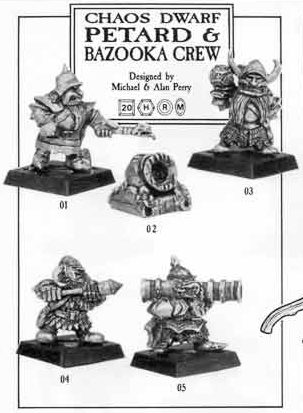 Chaos Dwarf Petard & Bazooka Crew