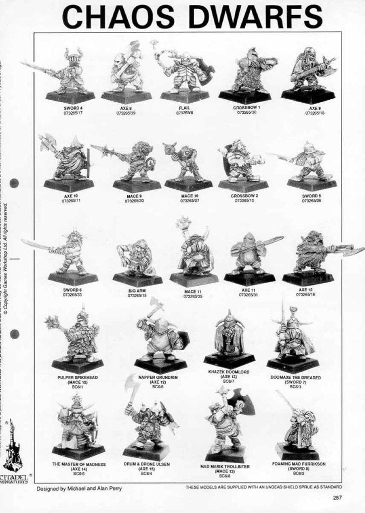Chaos Dwarfs (página 287)