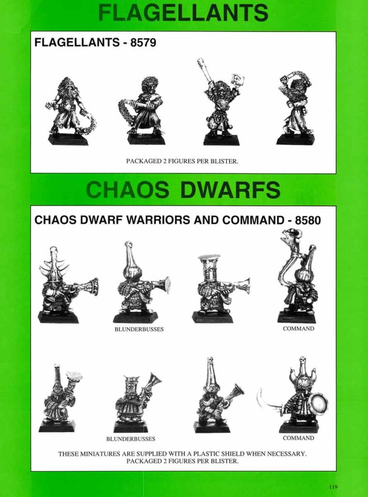 Chaos Dwarf Blunderbussiers and Command