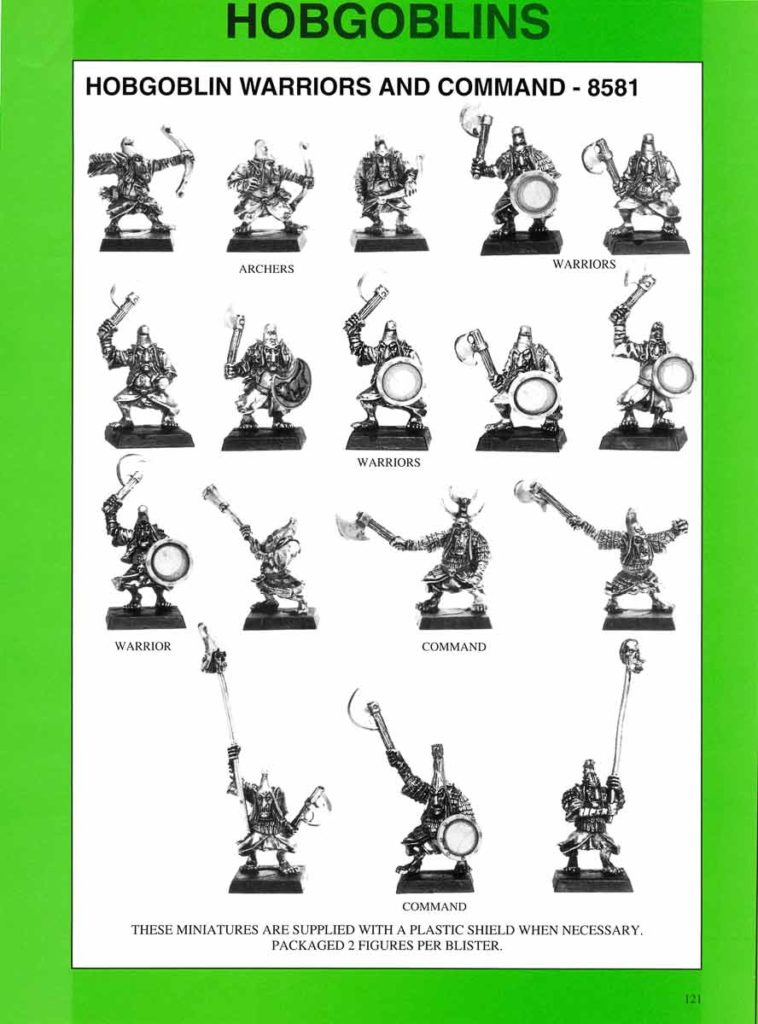 Hobgoblin Warriors and Command