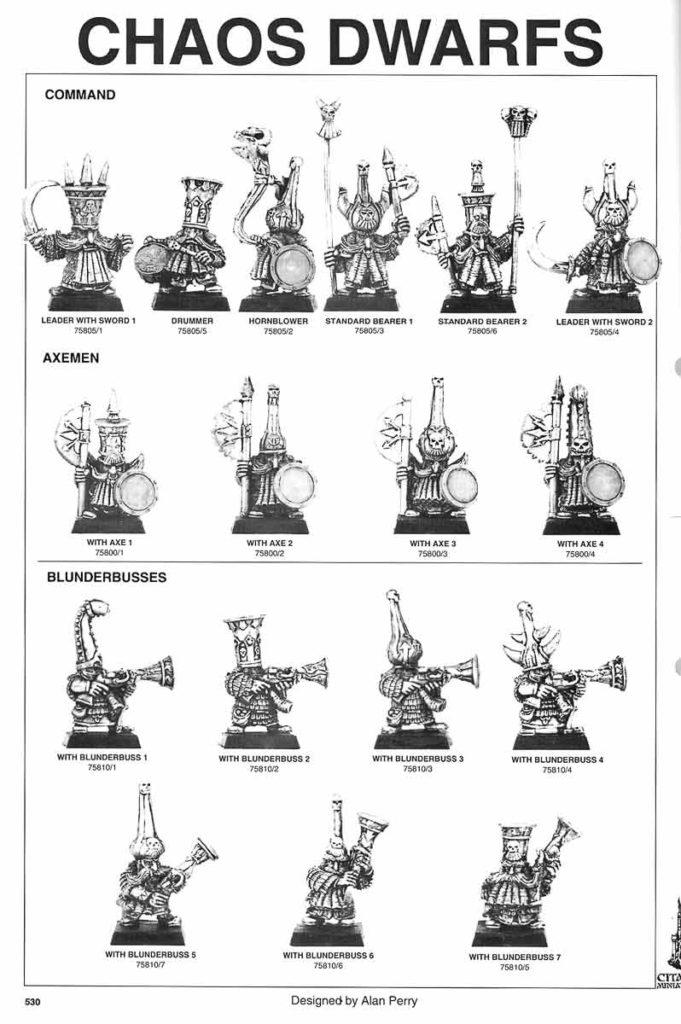 Command, Axemen & Blunderbusses