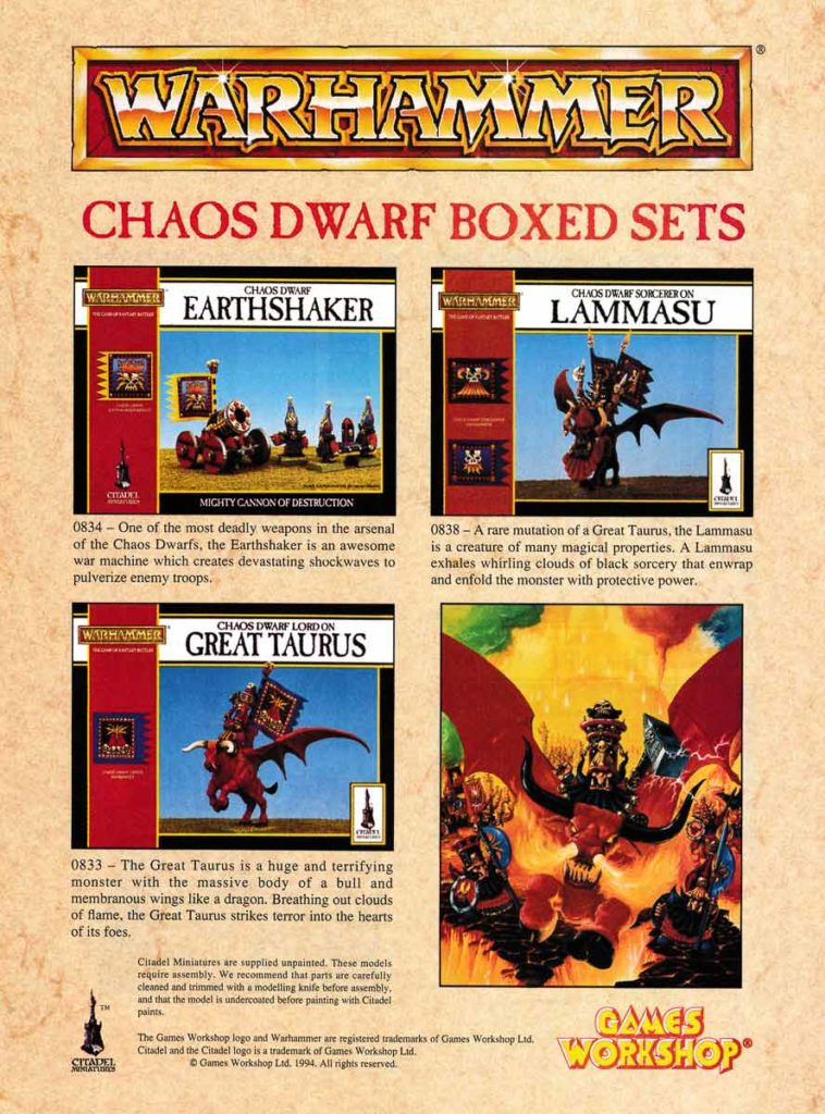Chaos Dwarf Boxed Sets