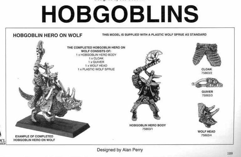 Hobgoblin Hero on Wolf
