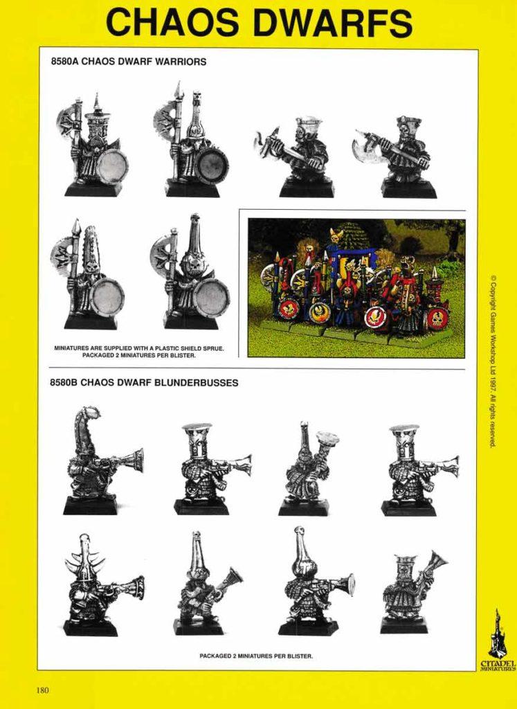 Chaos Dwarf Warriors & Blunderbusses