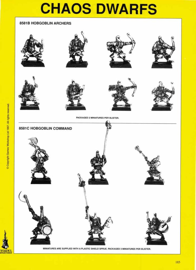 Hobgoblin Archers & Command