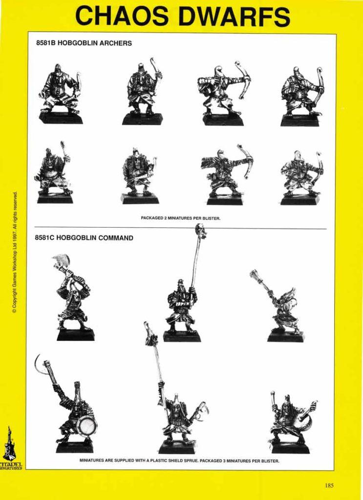 Hobgoblin Archers & Command
