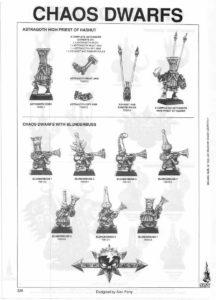 Astragoth, High Priest of Hashut, & Chaos Dwarfs with Blunderbuss