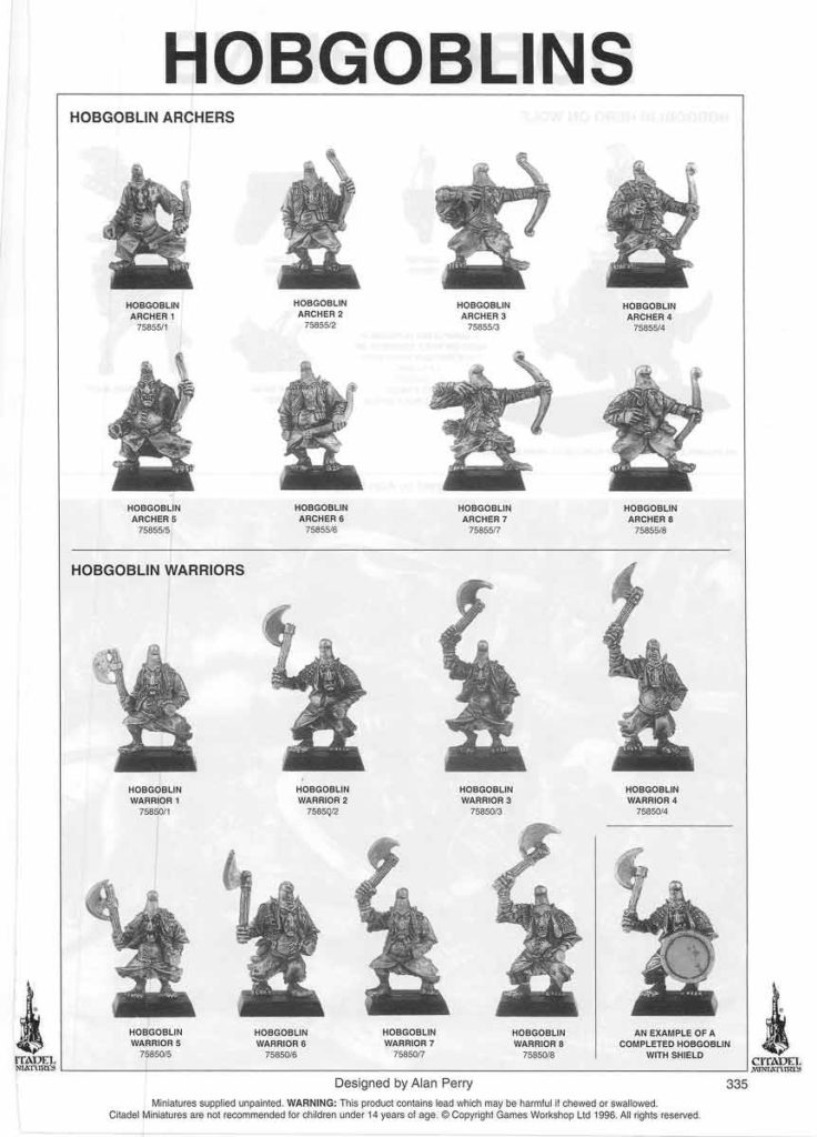 Hobgoblin Archers & Hobgoblin Warriors