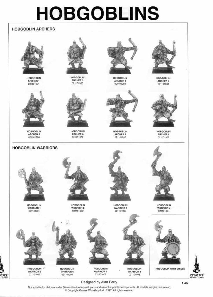 Hobgoblin Archers & Hobgoblin Warriors