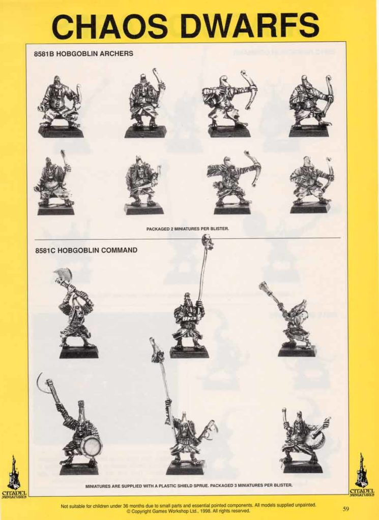 Hobgoblin Archers & Hobgoblin Command