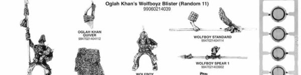 Oglah Khan's Wolfboyz Regiment Box