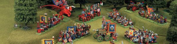 Ejército Enano del Caos frente a los Enanos