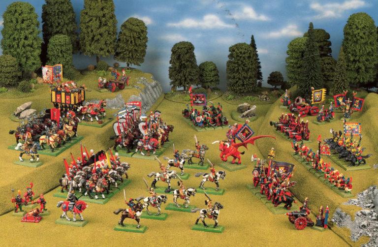 Ejército Enano del Caos frente a los condes electores