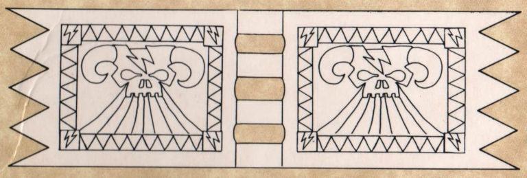 Brujo en Lammasu (blanco) #1