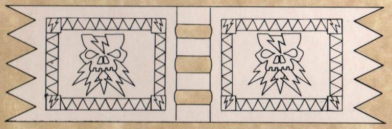 Brujo en Lammasu (blanco) #2