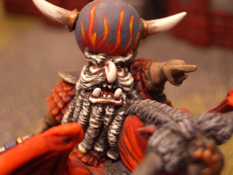 Comandante en Gran Toro (detalle)