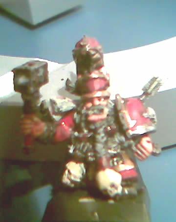 General Enano del Caos con martillo