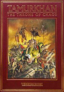 Cubierta de «Tamurkhan: The Throne of Chaos»