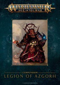 Cubierta de «Warhammer Age of Sigmar: Legion of Azgorh»