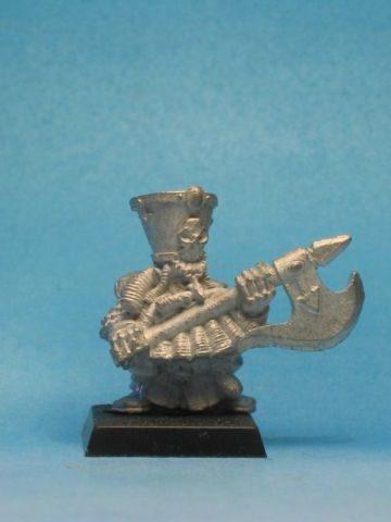 Warhammer Quest Chaos Dwarf Unreleased Axeman A