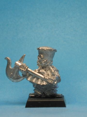 Warhammer Quest Chaos Dwarf Unreleased Axeman B