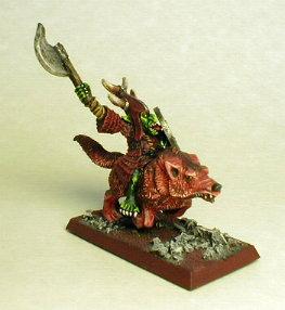 Campeón Hobgoblin en lobo