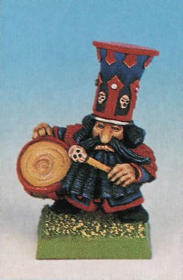 Músico con tambor